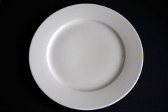 White dish Royalty Free Stock Photo