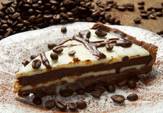 Coffee cke Stock Images