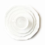 White dishes Stock Photography