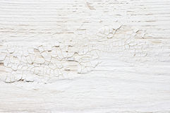 White distressed wood texture Stock Photography