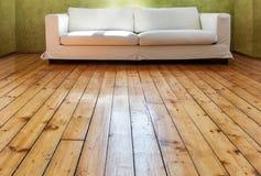 White divan, interior Stock Photography
