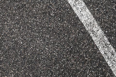 White dividing line on dark gray tarmac. Highway road marking. Abstract transportation background texture stock photos