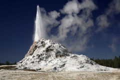 White Dome Geyser Royalty Free Stock Photo