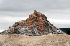 White Dome Geyser Royalty Free Stock Image