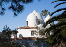 White Dome House Roof Stock Image