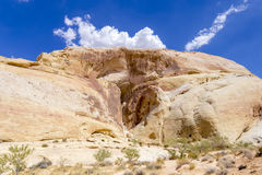 White Dome 1. White Dome in The Valley of Fire, Nevada Royalty Free Stock Photos
