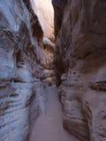 White Domes Slot Canyon Royalty Free Stock Photo