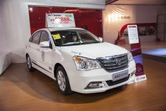White dongfeng a60 car Royalty Free Stock Image