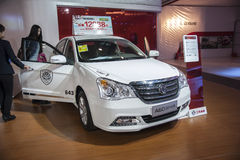 White dongfeng a60 car opened door Stock Photography