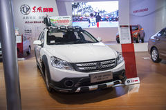 White dongfeng h30 cross car Royalty Free Stock Images