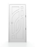 White door Stock Photos