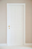 White door Royalty Free Stock Photography