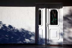 White door Royalty Free Stock Photos