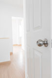 White door Stock Image