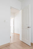 White door Royalty Free Stock Images