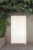 White Door Royalty Free Stock Image