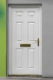 White door Royalty Free Stock Photo