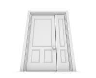 White door Royalty Free Stock Photo