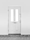 White Door Royalty Free Stock Image