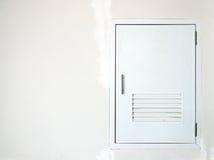 White door Stock Image