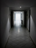 White doors and corridor Stock Photography