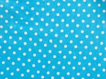 White dot fabric background Stock Images