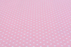 White dot pink background Stock Photos