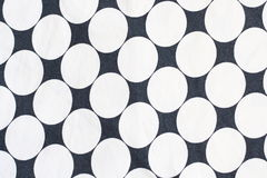 White dot pattern. White dots cotton skirt pattern stock images