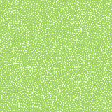 White dots on green background, seamless pattern for textile clo Stock Images
