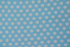 White dots pattern on blue background. stock photography