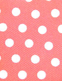 White dots, pink background Stock Photos