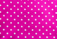 White dots on Pink Background Stock Photo