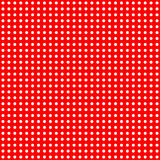 White Dots on Red Pattern Royalty Free Stock Images