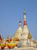 White double pagoda Royalty Free Stock Photo