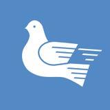 White dove postal service Stock Image