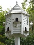 White dovecot Royalty Free Stock Photography