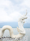 White dragon Royalty Free Stock Photos