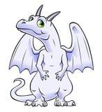 White dragon Royalty Free Stock Photo