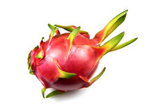 White Dragon Fruit (Pitaya) Stock Images