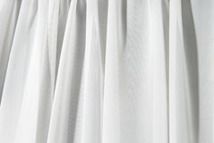 White drape background Stock Photo