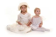 White dress royalty free stock photo