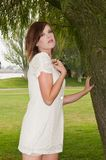 White dress Royalty Free Stock Photos