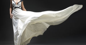 White dress Royalty Free Stock Photography