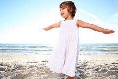 White dress. Royalty Free Stock Photos