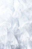 White dress fabric Stock Image