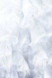White dress fabric Stock Image
