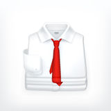 White Dress shirt Royalty Free Stock Photo