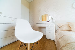 White dressing table Stock Image