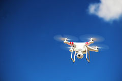 White Drone Royalty Free Stock Photography