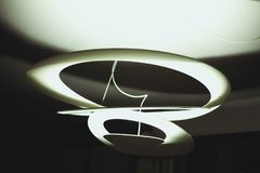 White Drop-ceiling Light Royalty Free Stock Images